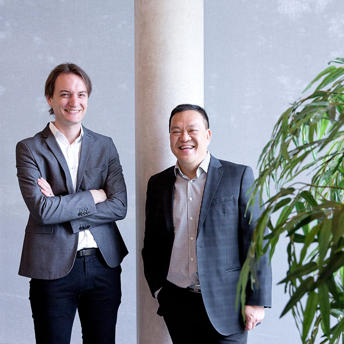 Thur Begheyn en Kit Tang - BenT Accountants en Belastingadviseurs
